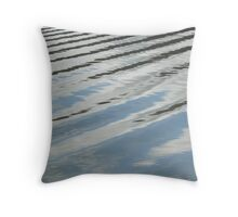 Tidal Ripples Throw Pillow