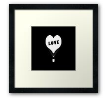 Iphone Love Framed Print