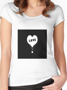 Iphone Love Women's Fitted Scoop T-Shirt