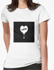 Iphone Love Womens Fitted T-Shirt