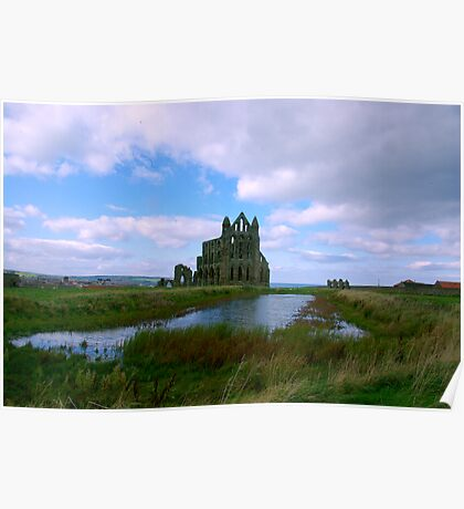 Whitby Abbey #1 Poster