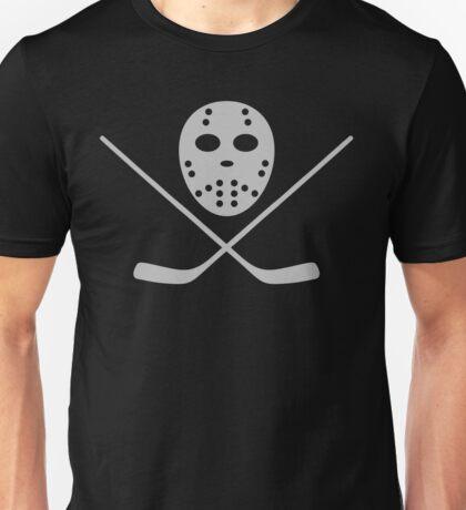 Hockey mask and bat Unisex T-Shirt