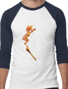 Hot Woman Men's Baseball ¾ T-Shirt
