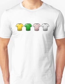 tour de france jerseys Icons Unisex T-Shirt