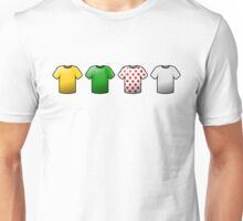 tour de france jerseys Icons Unisex T-Shirt