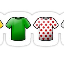 tour de france jerseys Icons Sticker