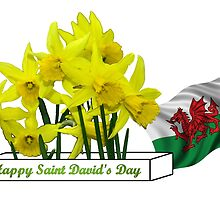 Happy Saint David's Day by missmoneypenny