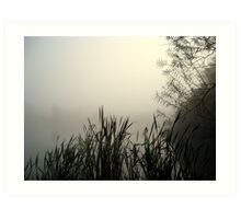 Misty Morning.. Art Print
