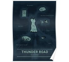 Thunder Road: An anatomy Poster