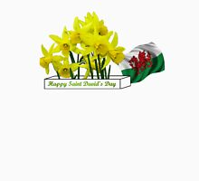 Happy Saint David's Day Womens Fitted T-Shirt