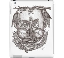 Expectations of the human mind iPad Case/Skin