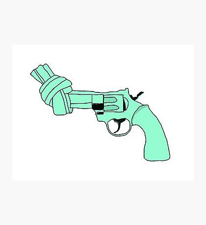Knottet Gun Photographic Print