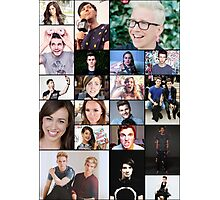 YouTubers of the World Photographic Print