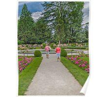 Garden of Diane de Poitiers, Chateau de Chenonceaux, Loire Valley, France #2 Poster