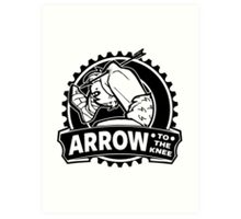 Arrow To The Knee Art Print