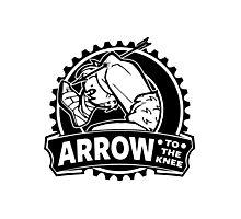 Arrow To The Knee Photographic Print
