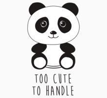 Too cute to handle panda by Luke Webster