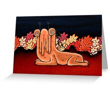 Cute Creature Fantasy Illustration Greeting Card