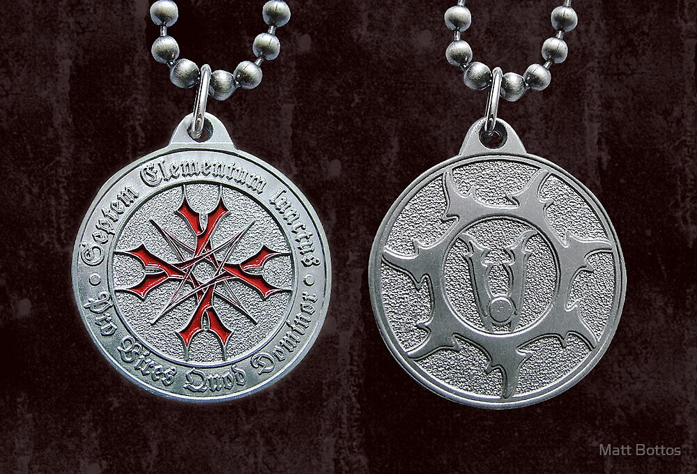 World Vampire Nation Medallion Designs by Matt Bottos