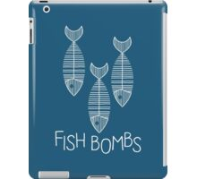Fish Bombs - white iPad Case/Skin