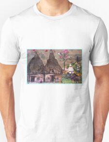 Ancient Temples  Unisex T-Shirt
