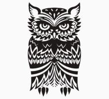 Tribal Owl by Luke Webster