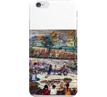 Village Sunday Market iPhone Case/Skin