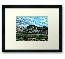 The Fall Harvest Framed Print