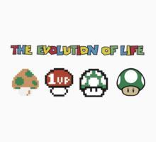 The Evolution of Life One Piece - Long Sleeve
