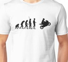 Evolution motorcycle Unisex T-Shirt