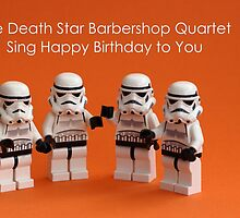 Death Star Barbershop Quartet by AdTheBad