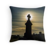 Pittsburgh Cemetery at Sunset (2) Throw Pillow