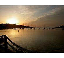 Portinatx sunset Photographic Print