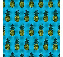 Tropical pineapple pattern Photographic Print