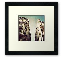 _ architecture _ Framed Print
