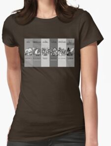 The Team - Twitch Plays Pokemon Womens Fitted T-Shirt