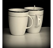 Cups & Spoon Photographic Print