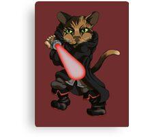 Sith Kitten Canvas Print