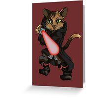 Sith Kitten Greeting Card