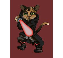 Sith Kitten Photographic Print