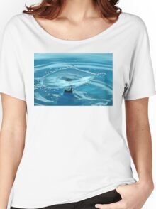 Turquoise Splash Women's Relaxed Fit T-Shirt