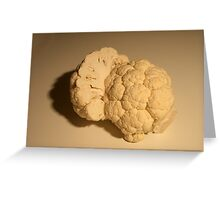 Cauliflower-043 Greeting Card
