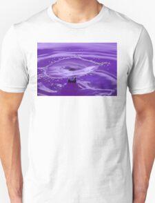 Purple Water Splash T-Shirt