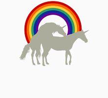 Unicorn Under the Rainbow Unisex T-Shirt