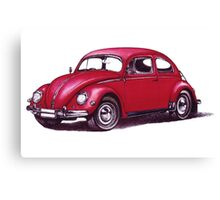 Volkswagen Beetle 1957. Canvas Print