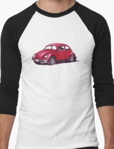 Volkswagen Beetle 1957. Men's Baseball ¾ T-Shirt