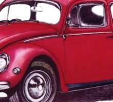 Volkswagen Beetle 1957. Sticker
