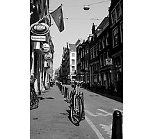 Of  Bicycles and Cobblestones Photographic Print