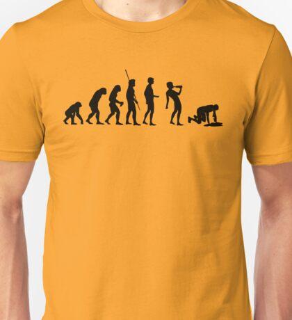 Evolution drinking Unisex T-Shirt