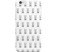 Urban Hourglass and Fantastical Background iPhone Case/Skin